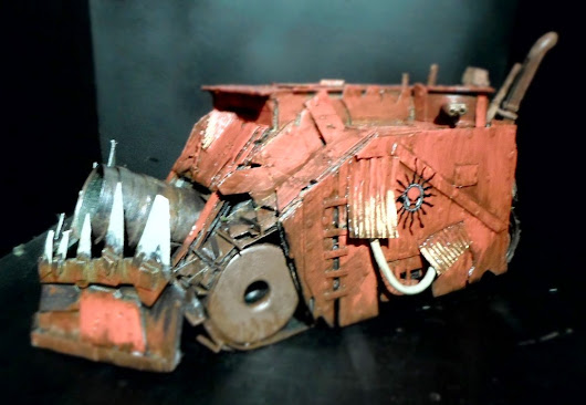 [Painting] Killa Tanks - Part 3 - Brush and Weathering.