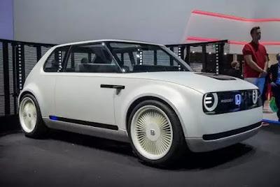 Mobil Honda Terbaru Berteknologi Listrik, Konsep Urban EV