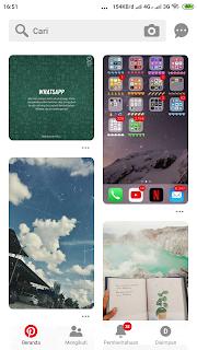 Cara menyimpan foto pinterest ke laptop dan android
