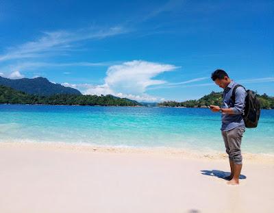 Pantai di Padang