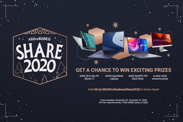 ASUS Share 2020 promo