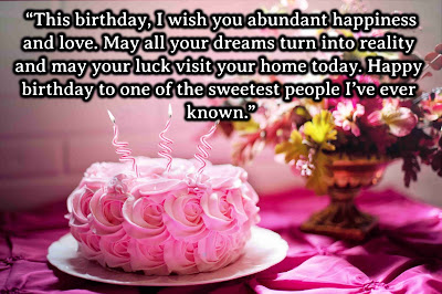 wishes on birthday