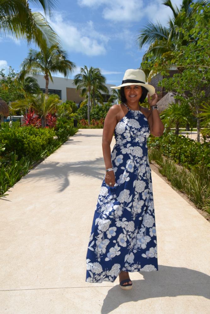 Floral print maxi dress Make Me Chic