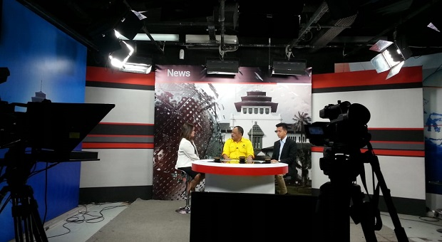 Di Program Inews TV, Eka Santosa Singgung Kasus Gedung DPRD Jabar