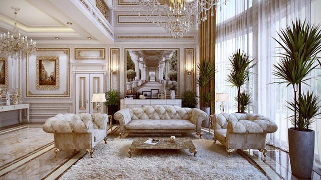 nội thất phòng khách căn hộ chung cư King Palace