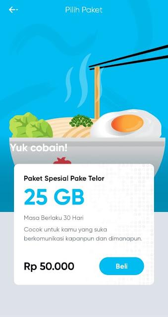Paket Internet Murah Kuota 25GB Hanya Rp 50rb, HUP! Beta Menggunakan Sinyal Telkomsel tomsheru.com