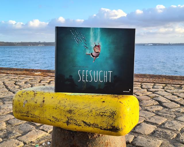 Meine Seesucht - meine Sehnsucht: Blogparade zu einem einzigartigen maritimen Kinderbuch. Mehr zu meinen Träumen vom Meer auf Küstenkidsunterwegs!