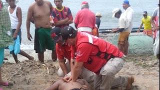 """Adolecente de Puebla se ahoga en playa """"la Bocana"""" de Alvarado Veracruz"""