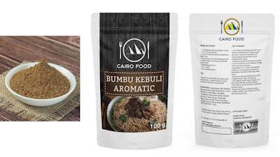 Bumbu Nasi Kebuli Aromatic Cairo Food Harga Terjangkau