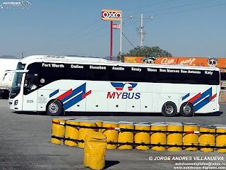 Linea: MyBus Autobus: Volvo 9800 Autor: Jorge Andres Villanueva