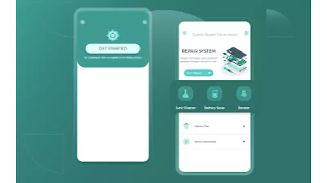 2- تطبيق Repair System For Android & Speed Booster technotesarabic.com