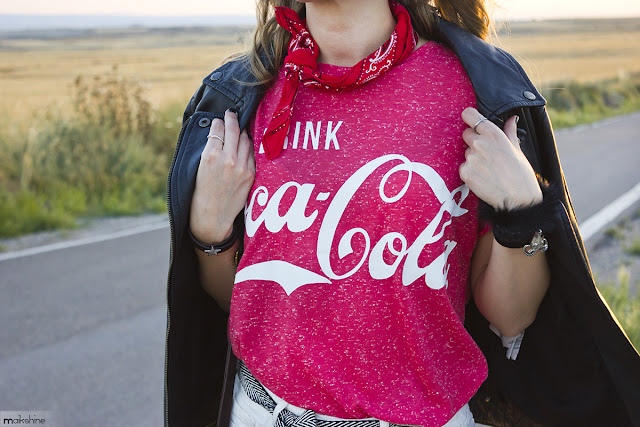 Coke tee outfit by Maikshine