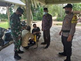 Cegah Penyebaran covid-19, Fasilitas umum di Desa sekernan Di semprot Petugas