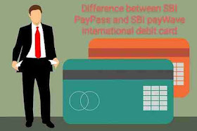 Difference between SBI PayPass and payWave international debit card