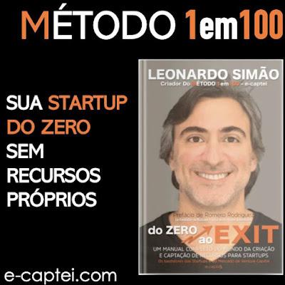 Curso Online Método 1em100 - Crie Sua Startup do Zero e sem a necessidade de recursos próprios!