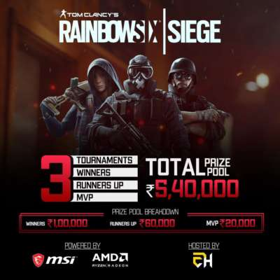 AMD and MSI Rainbow Six Siege Tournament