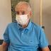 Aos 101, Orlando Drummond, o Seu Peru, é vacinado no Rio de Janeiro