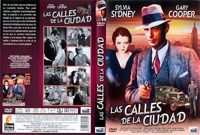 Caratula dvd: Las calles de la ciudad 1931