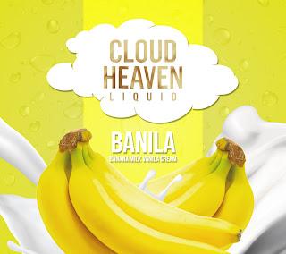 Cloud Heaven Liquid Vape Bali Denpasar Banila 60ml Murah