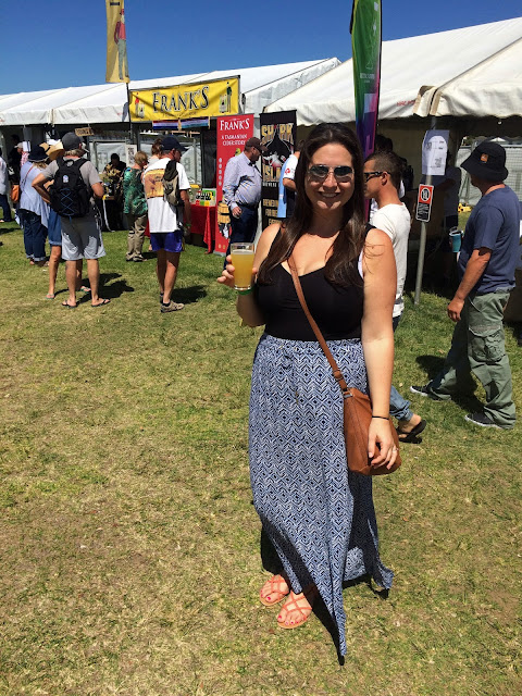 Port Macquarie Beer and Cider Festival Girl with Cider