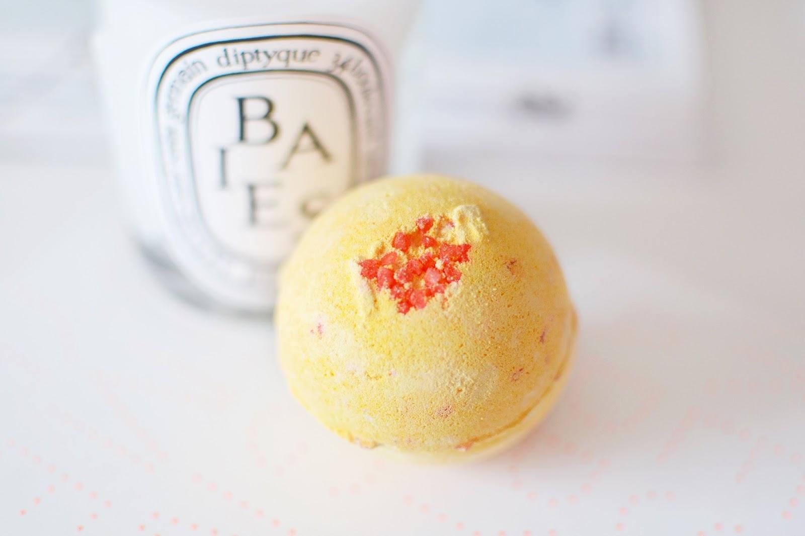cinders bath bomb