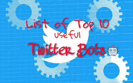 Top 10 Twitter Bots to follow in 2021
