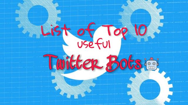 Twitter Bots List