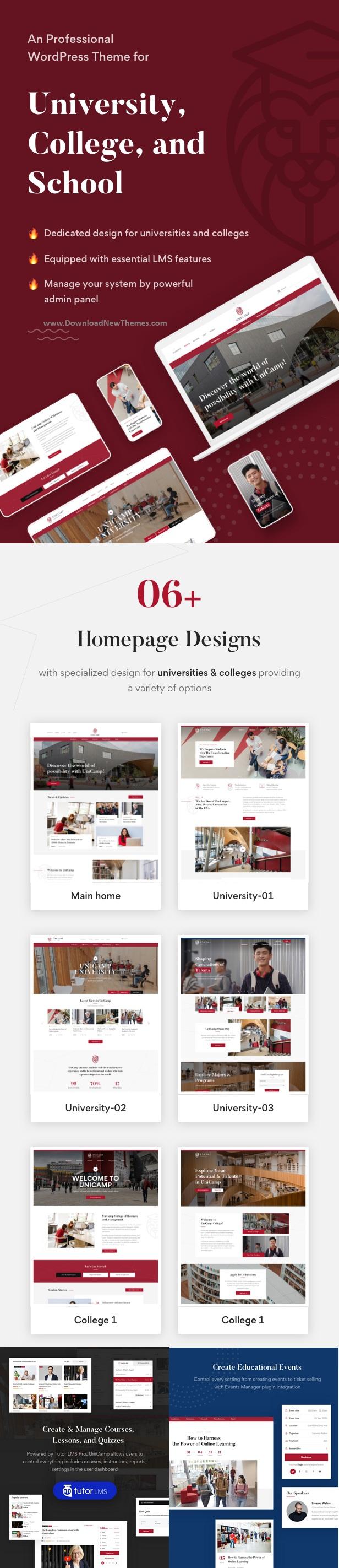 University and College WordPress Theme