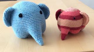 olifant haken, amigurumi