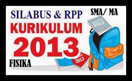 Download Contoh RPP SILABUS FISIKA Jenjang SMA Kurikulum 2013