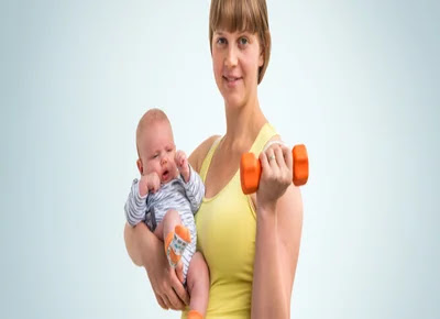 When is it possible to exercise after a cesarean delivery?