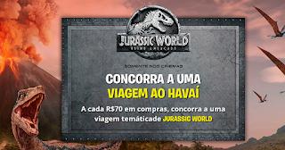 Promoção Aventura Jurassic World na PBKids -