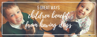 5 great ways children benefit from having dogs