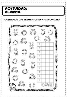 actividades de matemáticas para preescolar