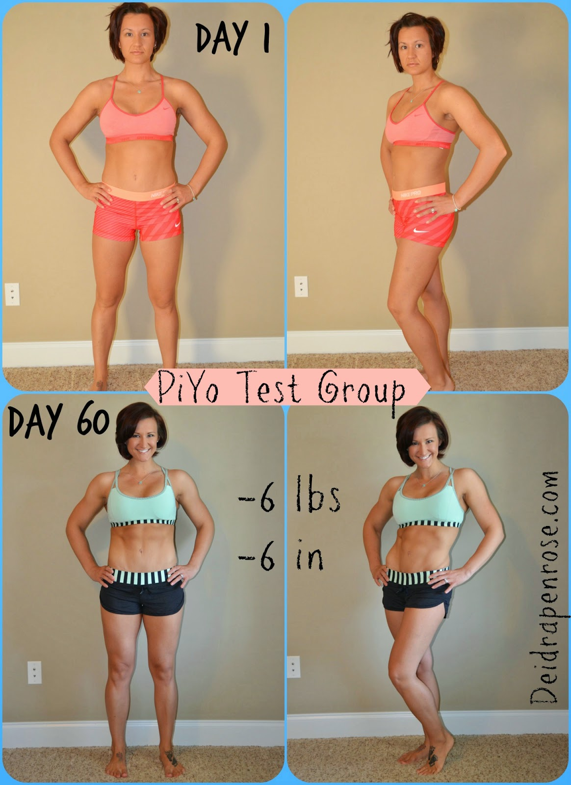 Deidra Penrose: PiYo Results- Beachbody Test Group