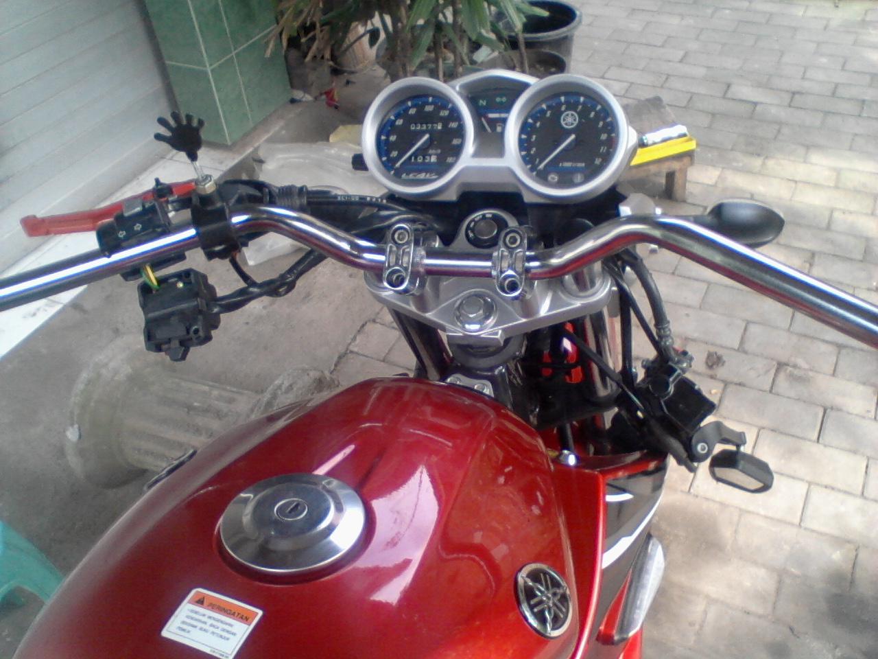 Motor Vixion Modifikasi Stang Tinggi Terkeren Glugu Tiger Revo Satrio Bimowibowo Ganti Dengan Ninja R