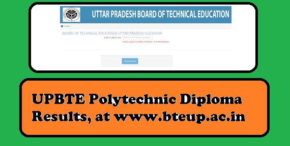 BTEUP Result 2019, bteup.ac.in, diploma results