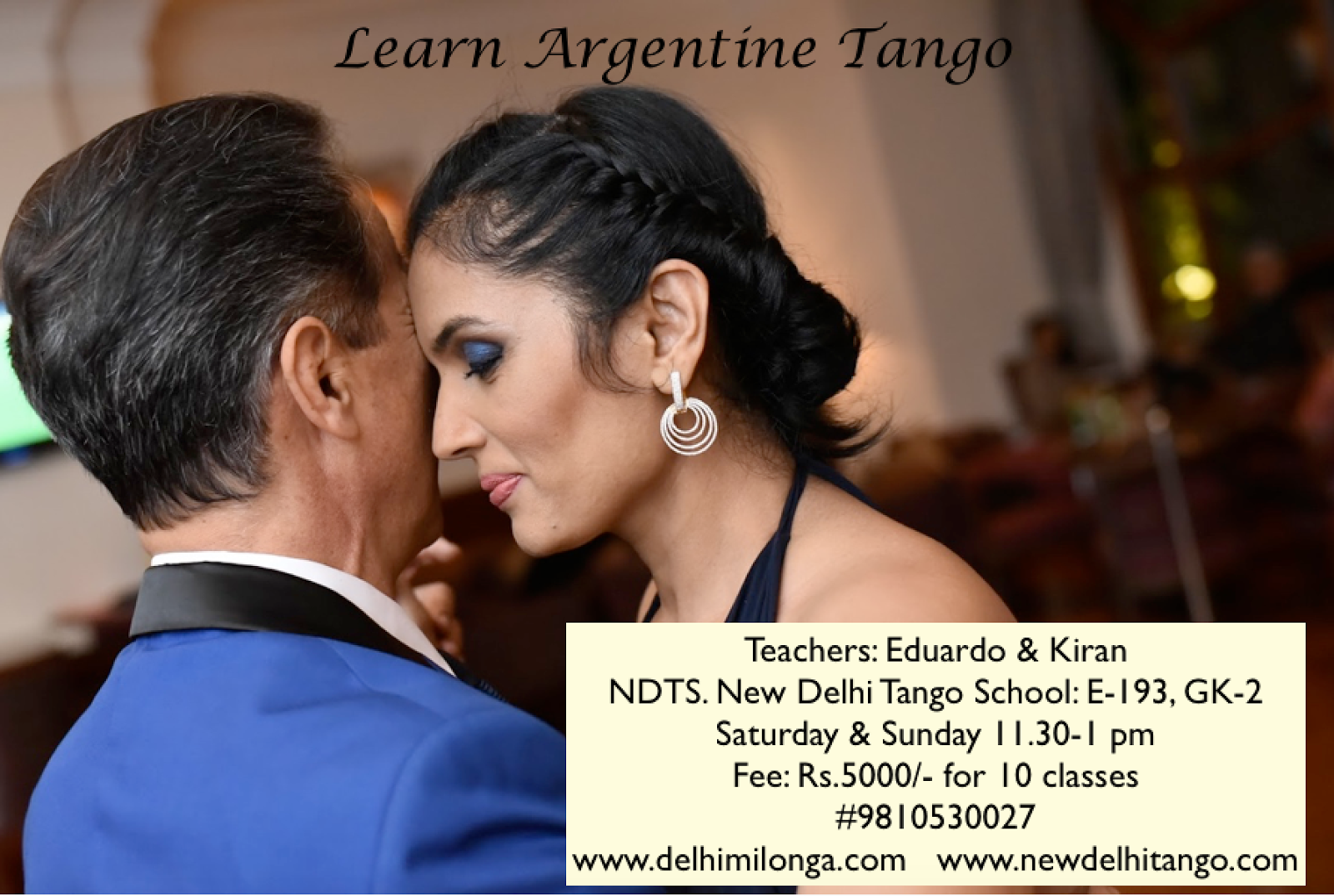 Argentine tango lesson - This is the way to dance tango ...