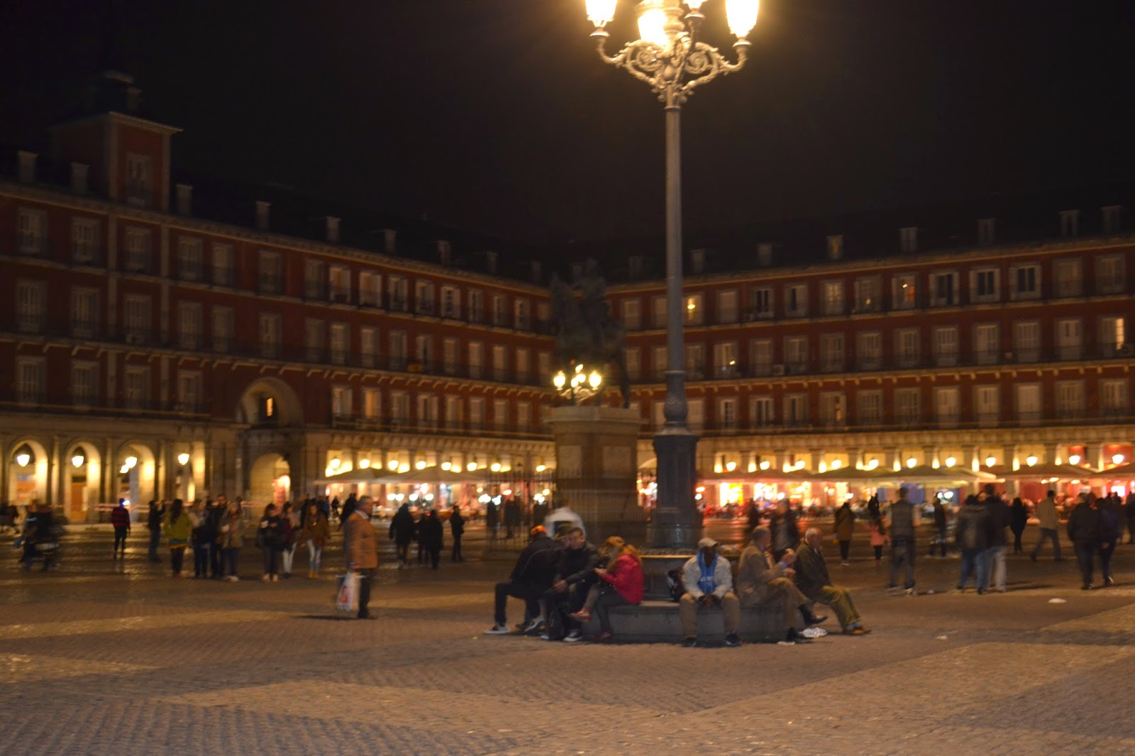 Madrid, espagne, plaza mayor