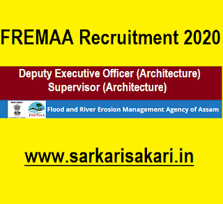 FREMAA Recruitment 2020 -Supervisor/ Deputy Executive Officer