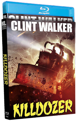 Blu-ray cover for Kino Lorber Studio Classics' KILLDOZER!
