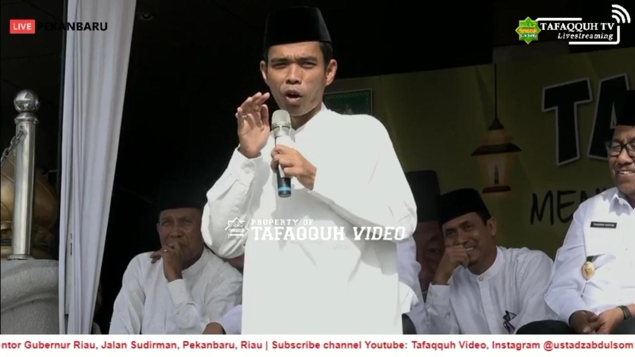 Tolak Dipanggil Kiyai, Ini 3 Alasan Ustadz Abdul Somad