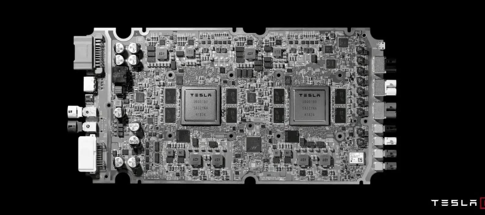 chips Tesla