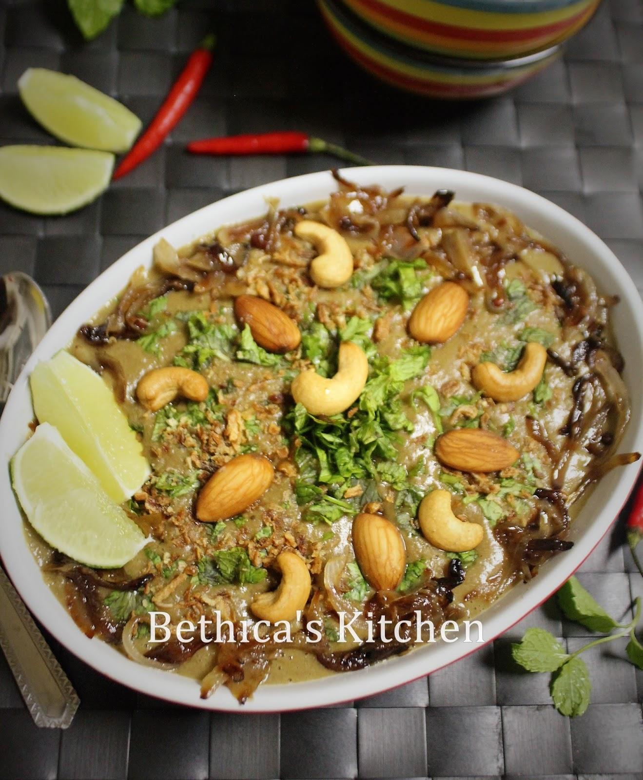 how to make mutton haleem