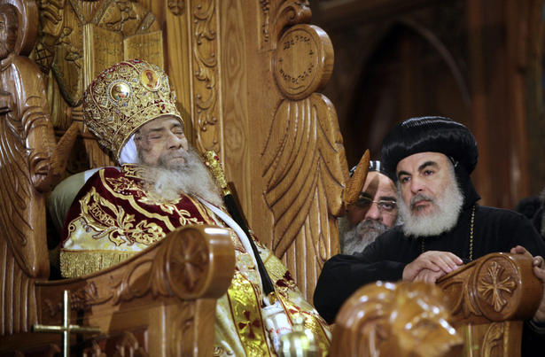 Orthodox Societies Egypts Coptic Christians Pay Final Respects To