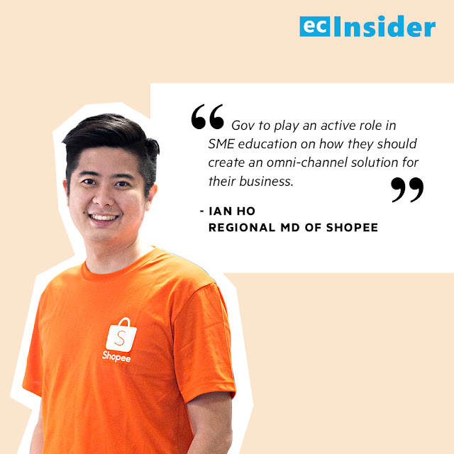 Ian Ho, Regional MD of Shopee