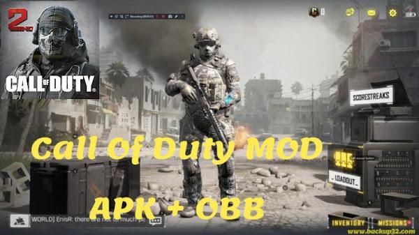 تحميل لعبة Call Of Duty MOD APK احدث اصدار  2022