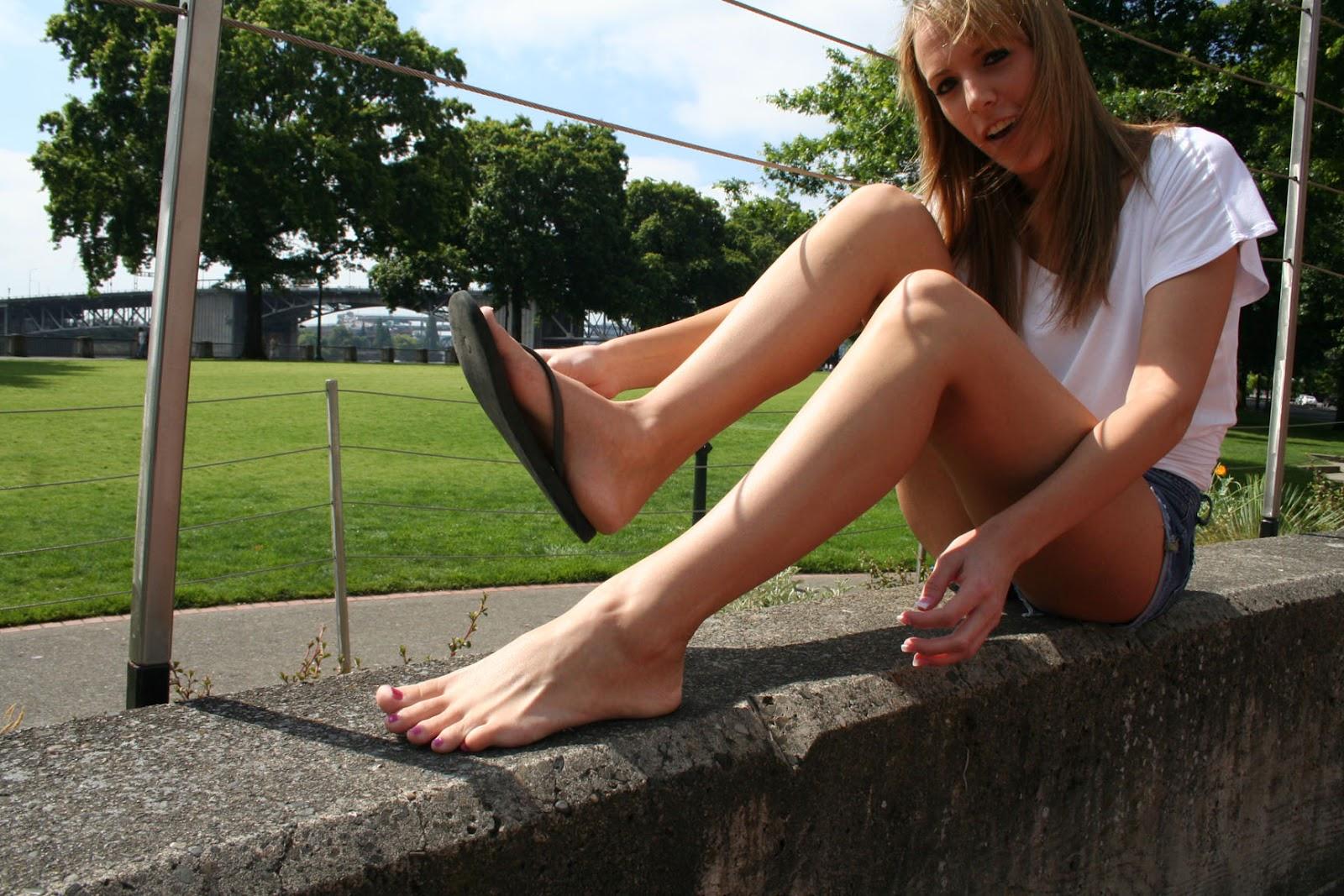 Teen Legs Open