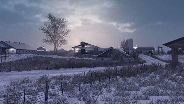 ats mods, american truck simulator mods, ats realistic mods, recommendedmodsats, grime's weather mods, ats weather mod, ats graphic mod, ats winter mod, ats frosty winter weather mod v2.4 screenshots1