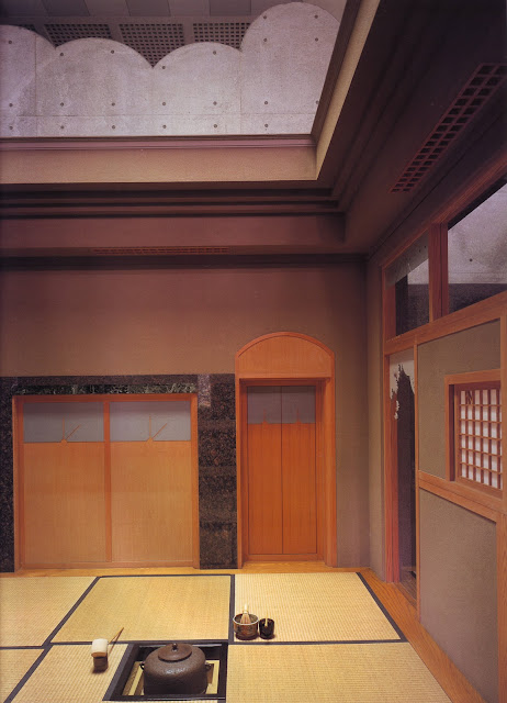 pièce pour la cérémonie du thé japonais